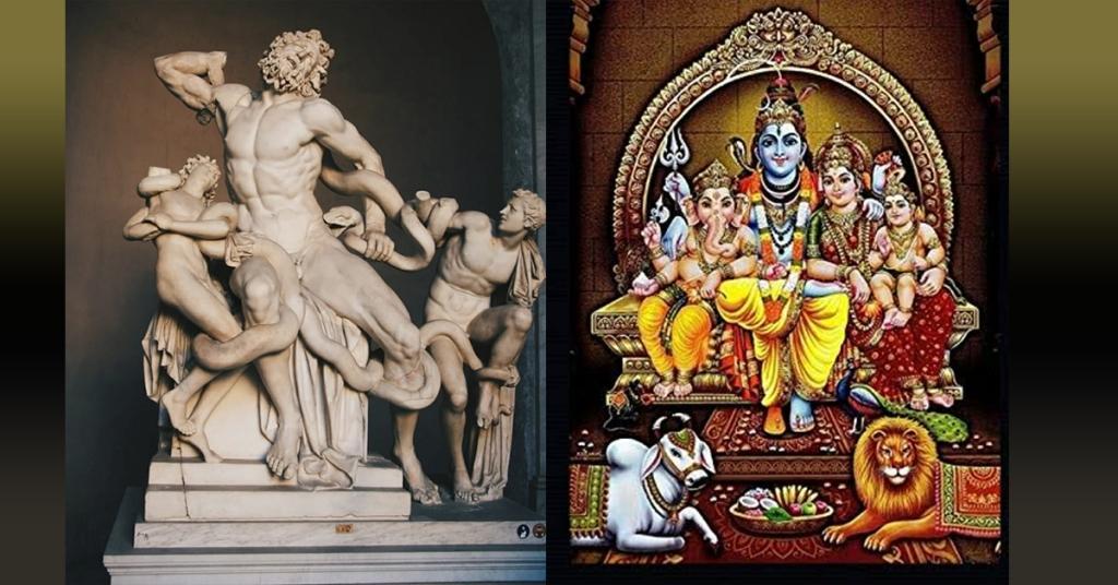 ARE THERE AY SIMILARITES BETWEEN GREEK AND HINDU MYTHOLOGY?