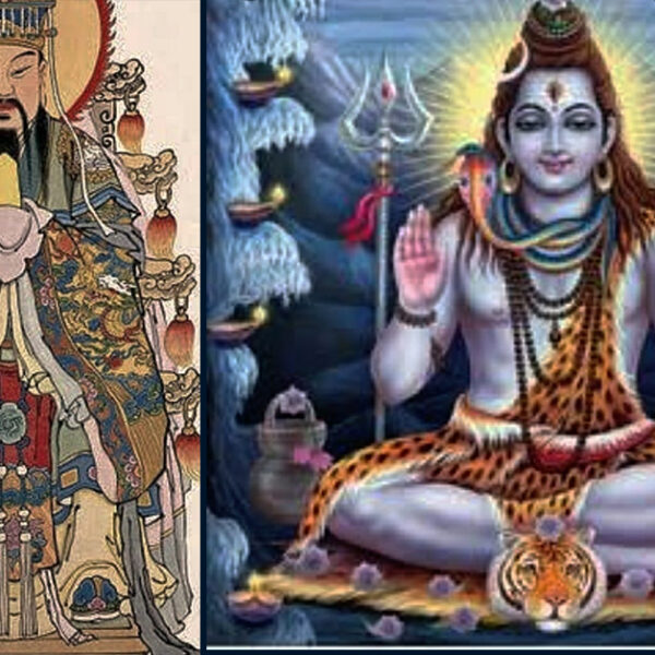 IS THE JADE EMPEROR OF CHINA THE HINDU GOD LORD SHIVA?